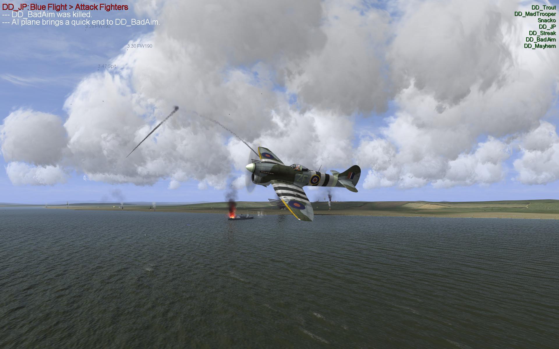 JP Over Normandy
