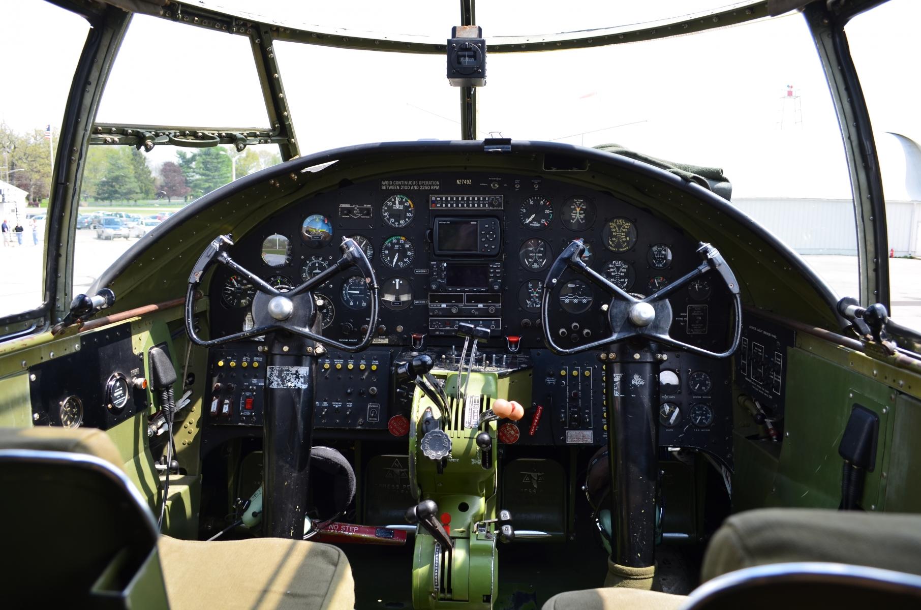 Snacko's B-25 Ride