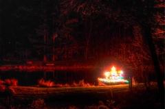 Christmas Lights on the Pond!