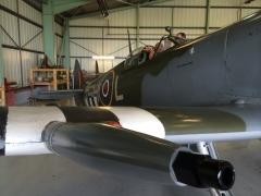Spitfire IX MK912 the business end