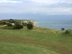 Fenrir explains Kentish coastline to Artie