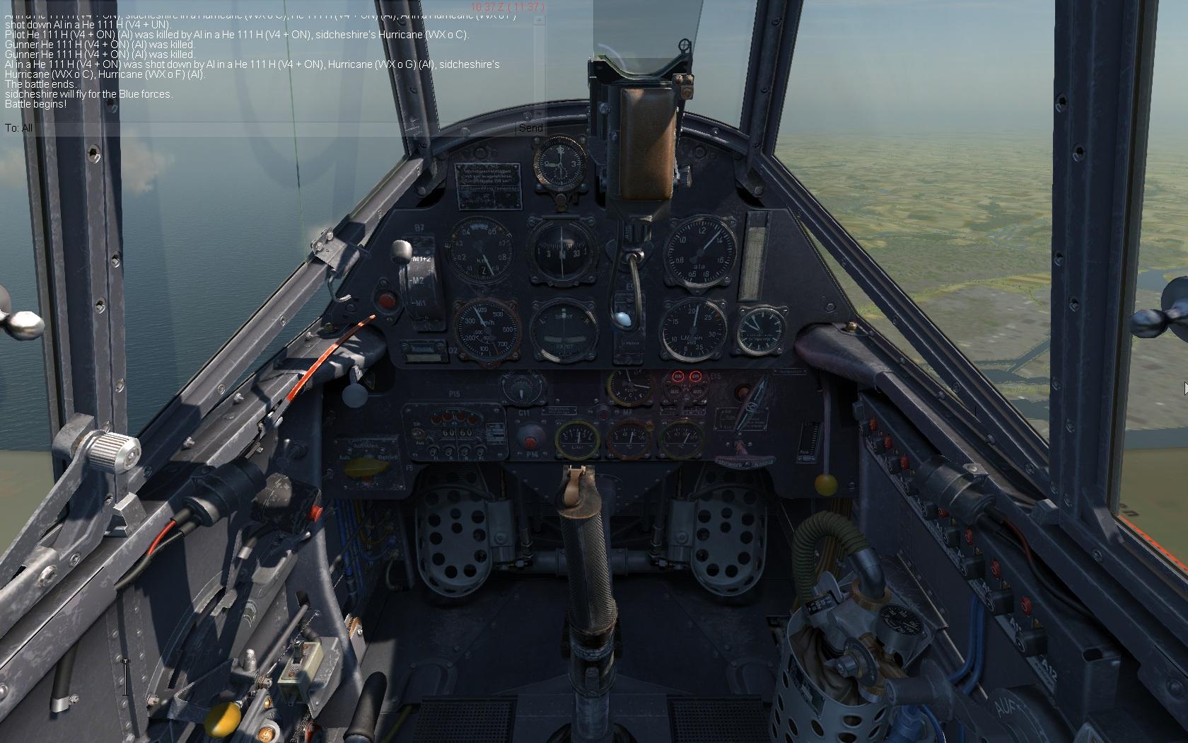 109 cockpit
