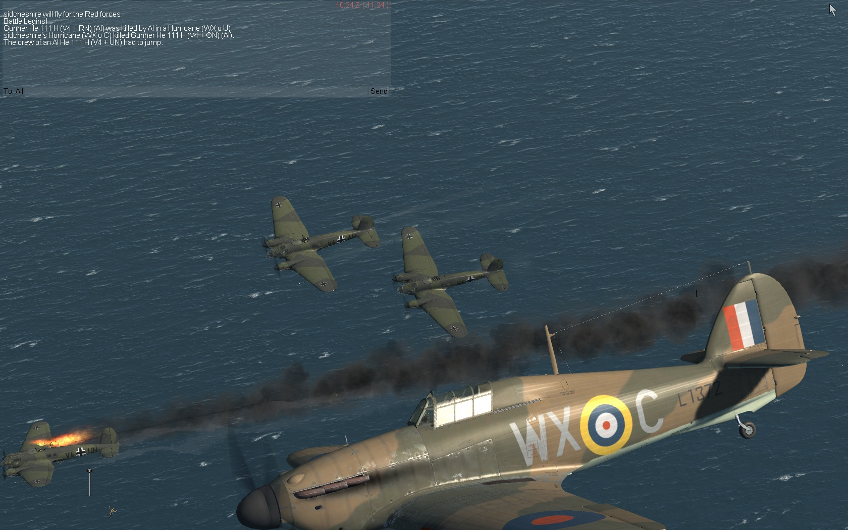 Bomber intercept