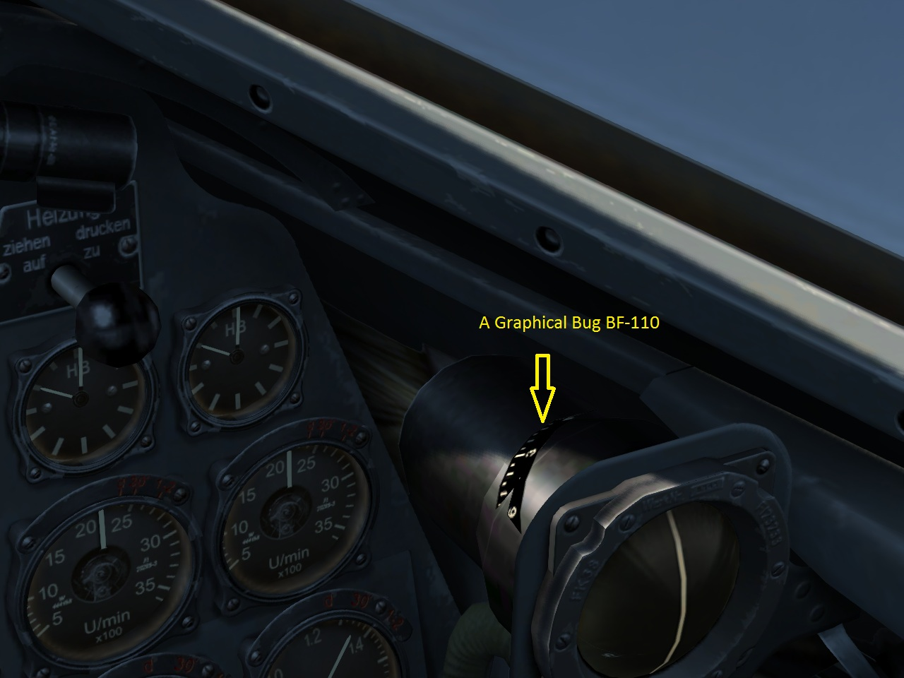 BF 110 Compass horizon