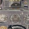 Pilot reflection close Up