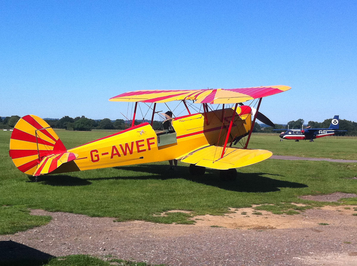 Stampe SV.4 G-AWEF