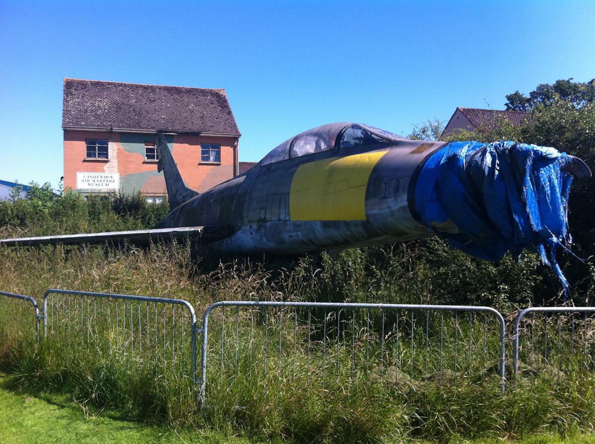 Neglected F-100 Super Sabre