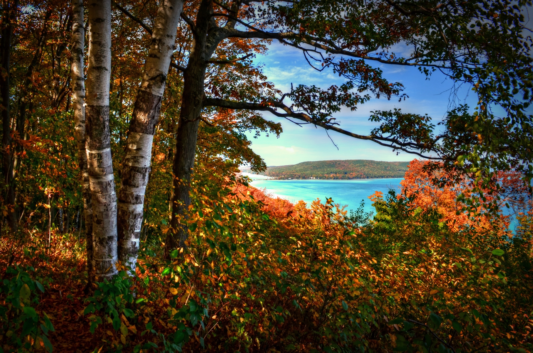 Big Glen Lake Overlook