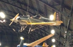 Photo of PT-22 taken at US Air Force Museum. This is the same type aircraft crashed by actor