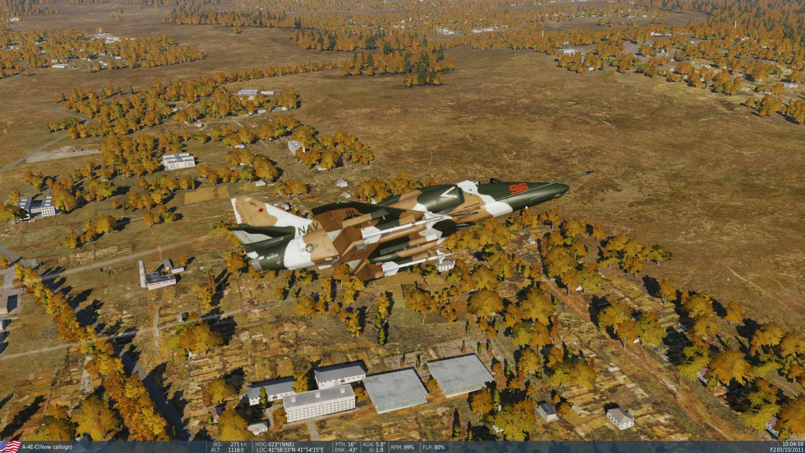 A-4E AA training.